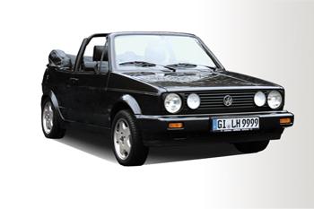6. Preis 2017: VW Golf 1 Cabrio