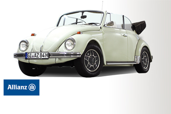 2. Preis 2017: VW Käfer Cabrio