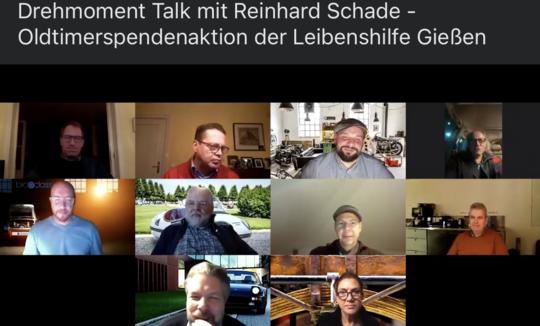 Online-Gespräch über Oldtimerspendenaktion