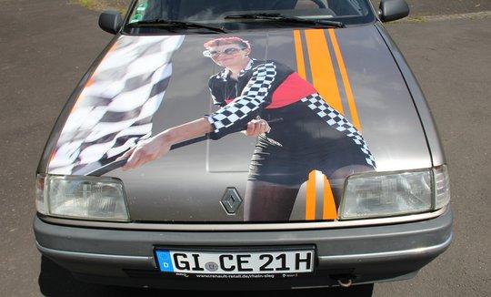 Das Auto zur 21. Kult-Rallye 2022