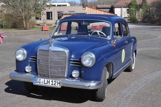 1. Preis 2019: Mercedes-Benz 180 C, Baujahr 1961