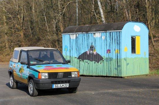 Die noch tollere Kiste: Fiat Panda Cabrio!