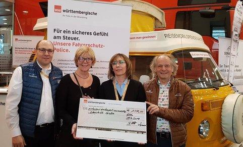 Spende aus Stuttgart