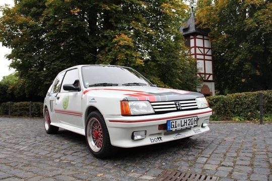 8. Preis 2019: Peugeot 205 GTI, Bj. 1986