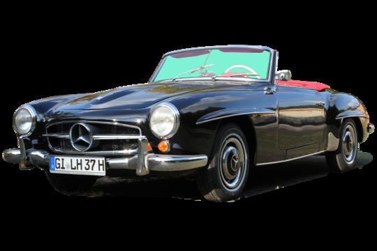 2. Preis 2021: Mercedes-Benz 190 SL Cabriolet