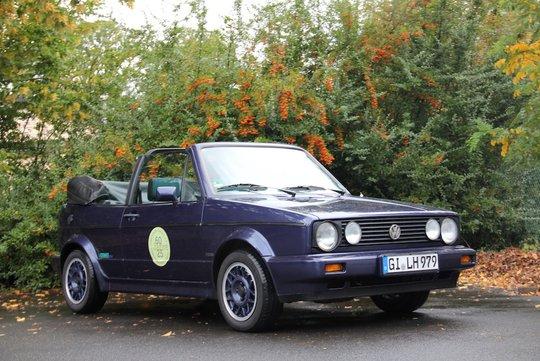 7. Preis 2019: VW Golf I Cabriolet, Baujahr 1991