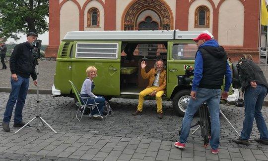 Zur besten Sendezeit: Unser Bulli im SWR!