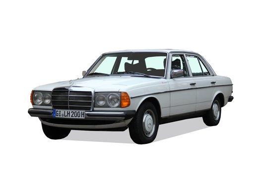 3. Preis 2020: Mercedes 240 D (W123)