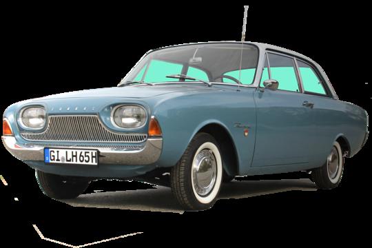 5. Preis 2021: Ford Taunus 17M P3