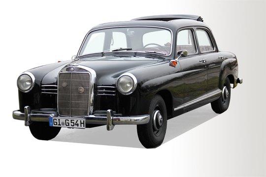 1. Preis 2018: Mercedes 180, Bj. 1954