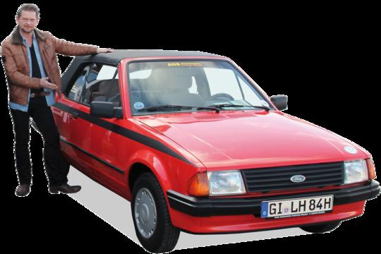 7. Preis 2020: Ford Escort Cabrio