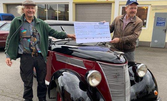 Neue wunderschöne Oldtimer-Spende: Ford Eifel Roadster