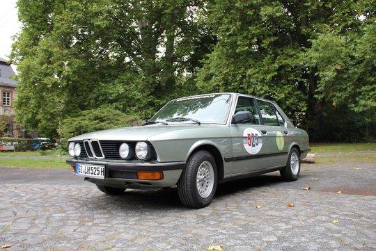 5. Preis 2019: BMW 525e, Bj. 1984