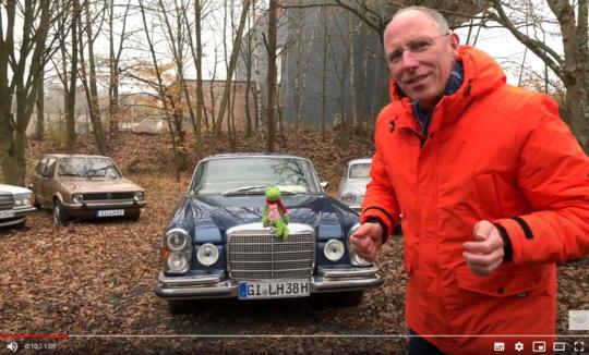Thomas Ranft ist mit Oldtimerspendenaktion in Gießen unterwegs