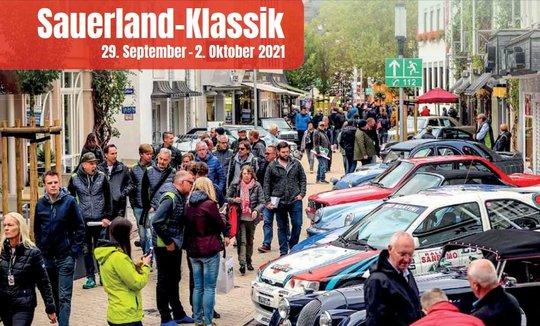 Sauerland-Klassik von   29. September bis 2. Oktober 2021