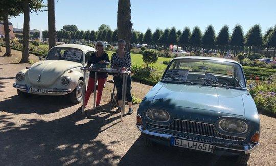 Oldtimerspendenaktion bei Internat. Concours d'Elegance Automobile - Classic Gala Schwetzingen